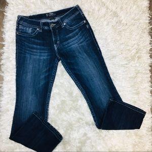 Silver Suki Bootcut Jeans 32